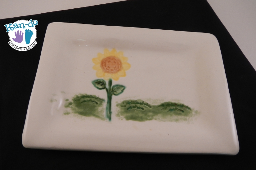 Sunflower Soap Dish
